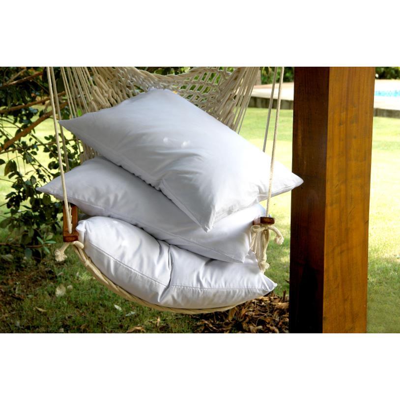 Travesseiro de pluma de ganso de 50x70 cm - Edredon pluma de ganso ...